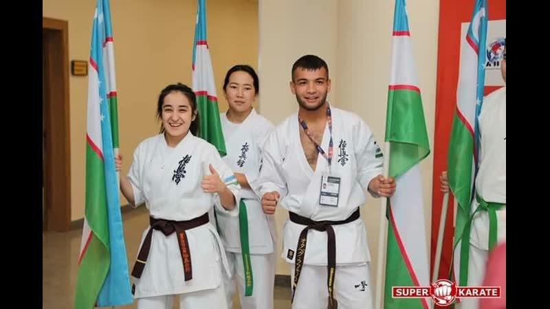 Чемпионат мира Каратэ Киокушин KWU 2019 Сборный Узбекистан все Бои KWU KWUCHAMP2019 KAZAKHSTAN