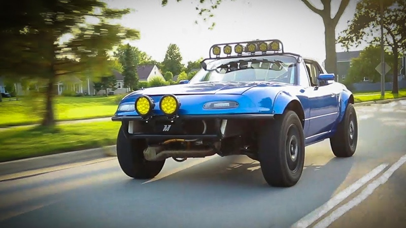 Building The WORLDS FIRST AWD Lifted Miata in 10 Minutes