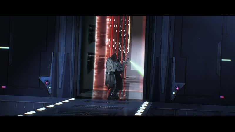 Квай Гон и Оби Ван против Дарт Мола Звёздные Войны Скрытая Угроза 1999