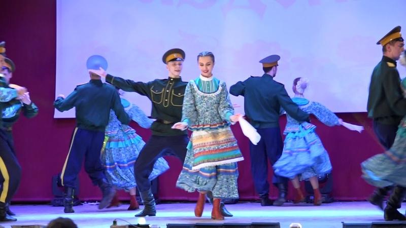 Казачья прощальная народный ансамбль песни и танца Раздолье Бурятской ГСХА