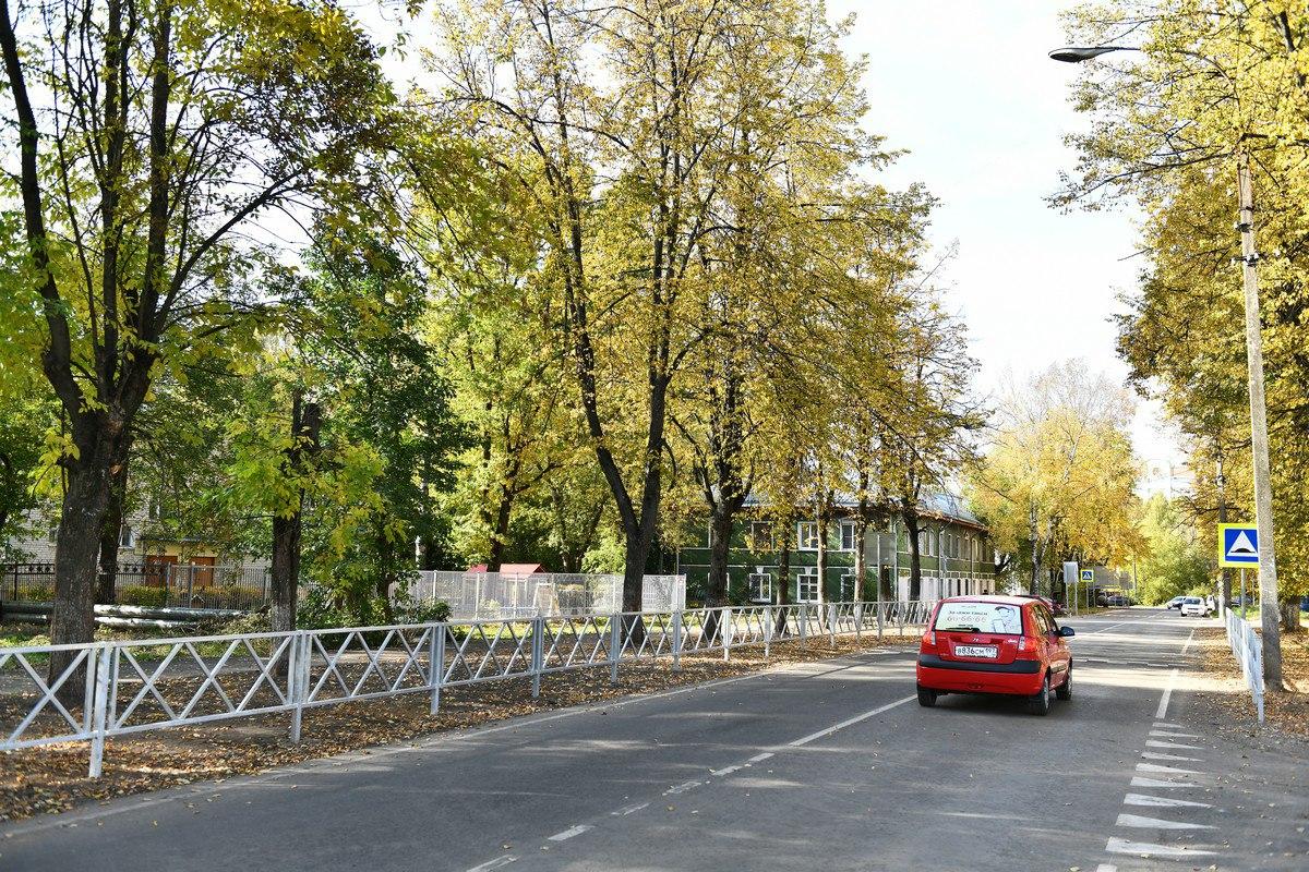 Во Фрунзенском районе завершился ремонт на улице Балтийской