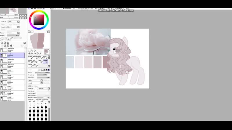 Создание персонажа Пони для ловилки Группа ~Лавка Цветущей Сирени~