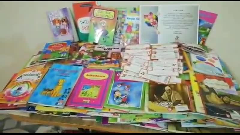 Okulumuza 232 kitap hediye ettik.