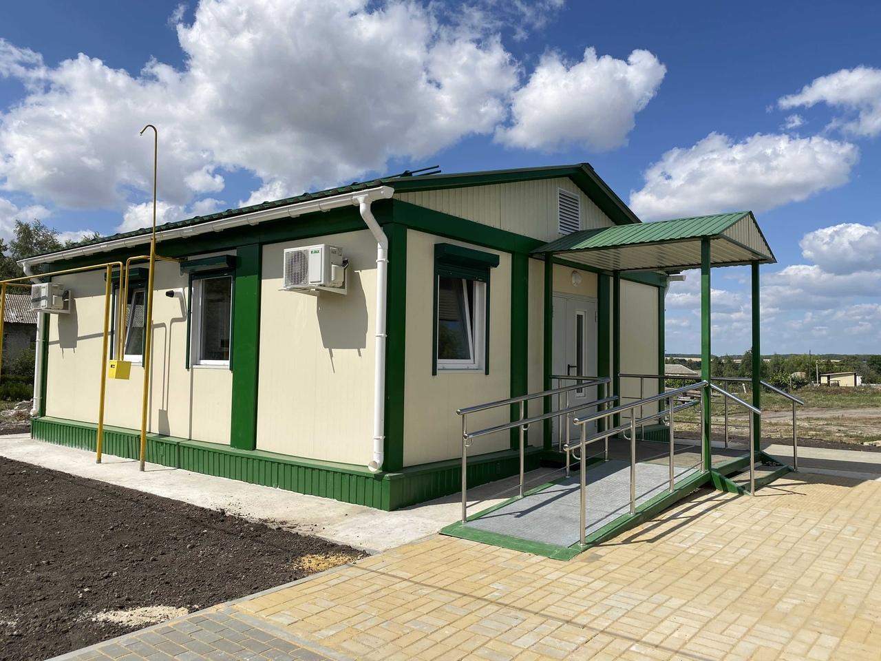 Курская область. В Тимском районе построили новый ФАП и отремонтировали детское отделение поликлиники