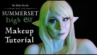 ELDER SCROLLS-INSPIRED High Elf Makeup Tutorial for Halloween & Cosplay