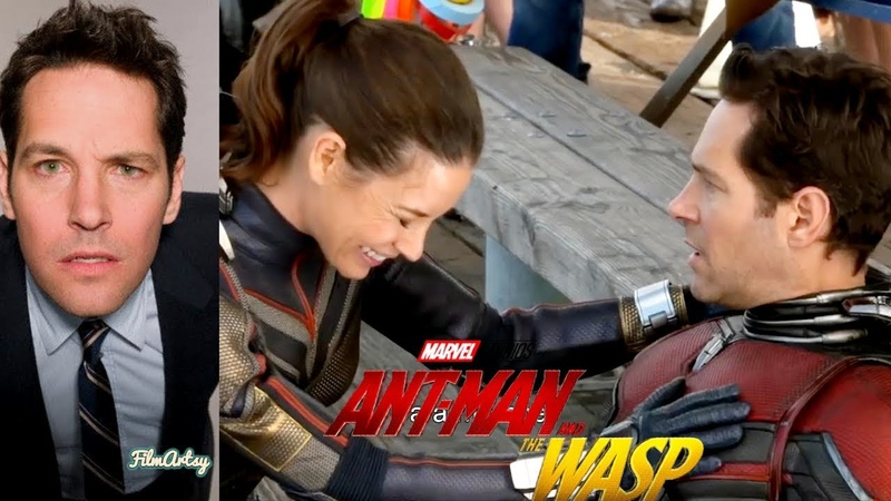 Paul Rudd Hilarious Bloopers and Gag Reel Ant Man The Wasp Special