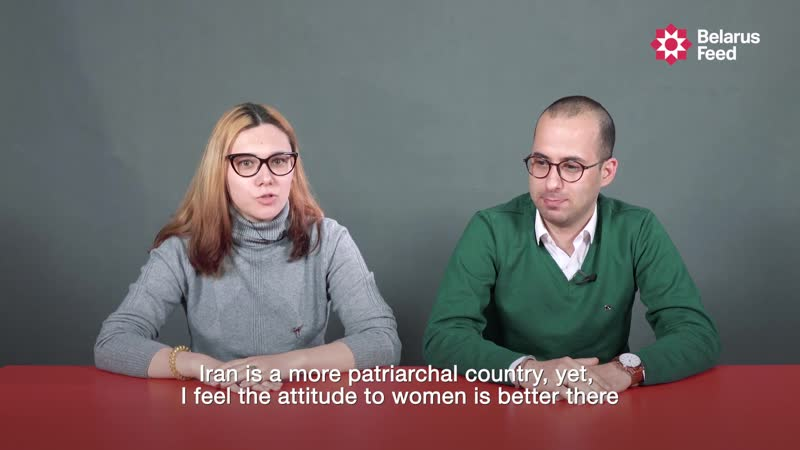 International couples talk about relationships and life in Belarus