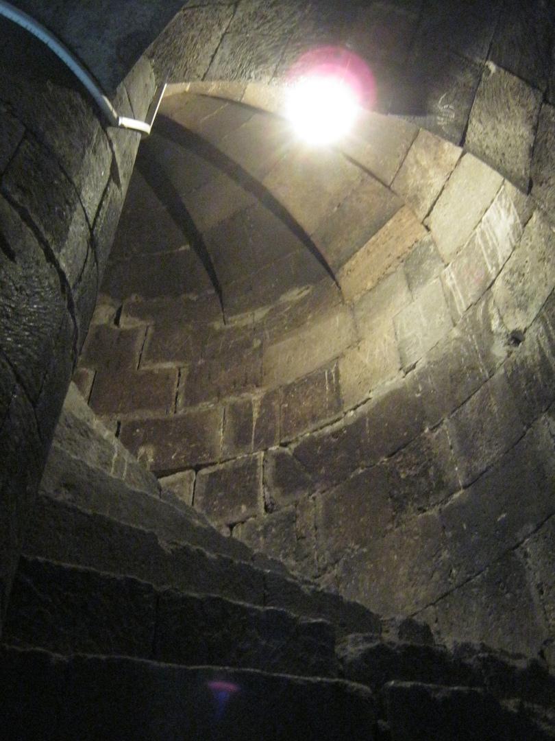 путь на вершину часовой башни