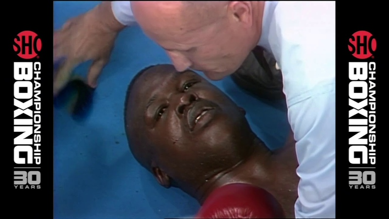 James Buster Douglas vs Evander Holyfield - 1990-10-25 - HD