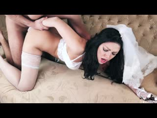 [ Nevminoze ] First Wedding Night Of Hot Latina - Rough And Passionate Sex With Creampie