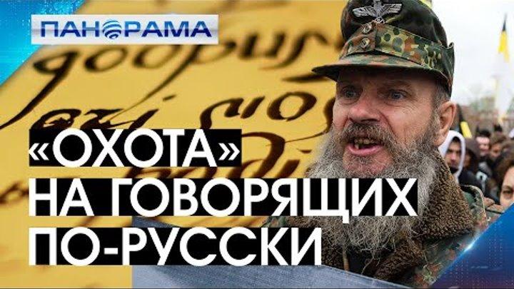 Ни слова на русском... жительницу Константиновки затравили за русский язык. 27.01.2021, Панорама
