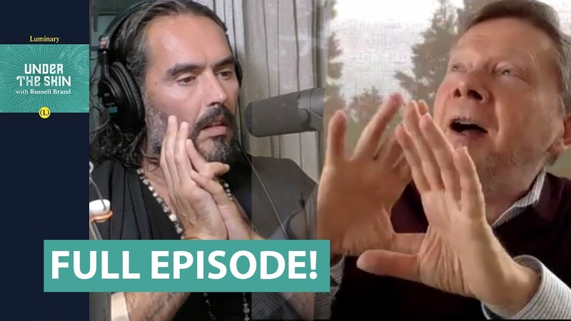 Become Awake Now Eckhart Tolle Russell Brand Full Episode