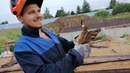 Фундамент для дома/крючок для вязки/ вязка арматуры/каркасы/ своими руками. Монолитный дом- Георгий.