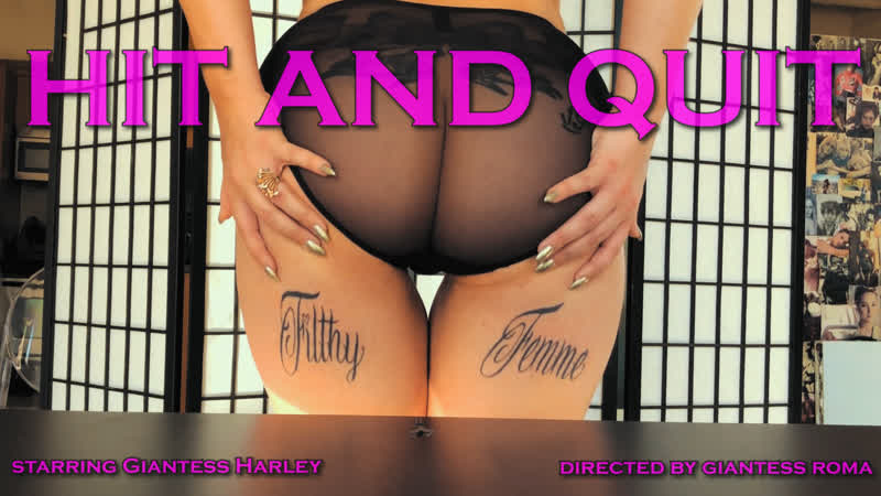 """Giantess Harley 