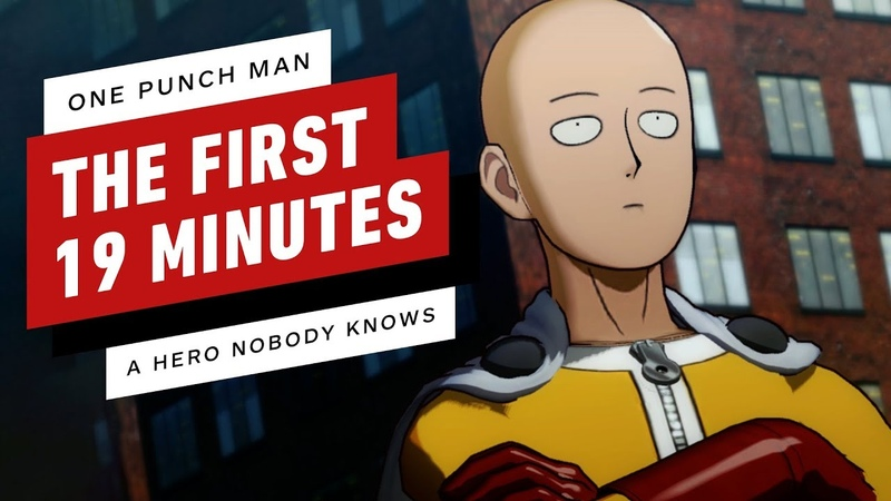 One Punch Man A Hero Nobody Knows The First 19 Minutes