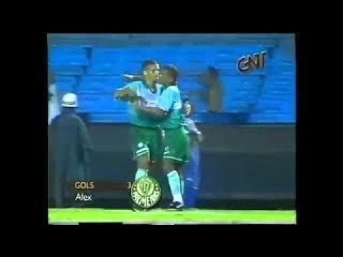 Palmeiras 3X1 Corinthians Rio SP 2000 3 Gols de Alex