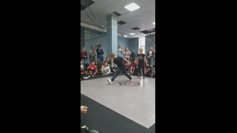 танец Драйв Сысоев Сергей 9 лет Кадетская школа N4
