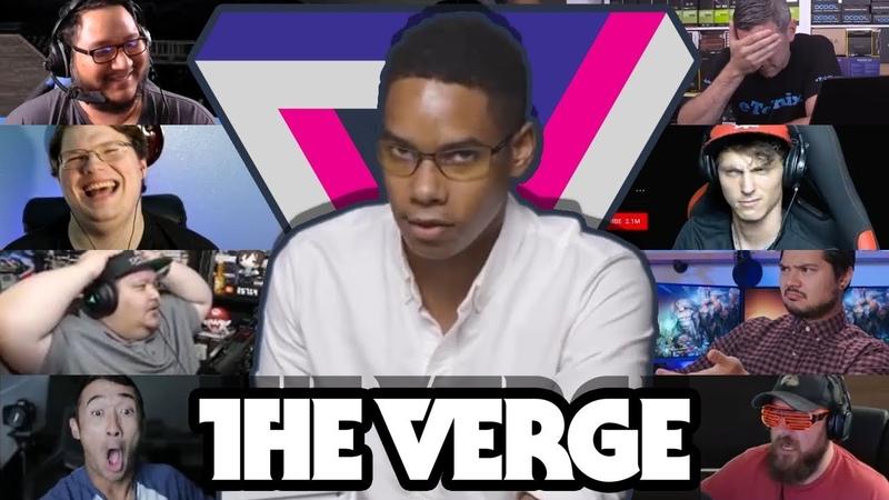 The Verge's $2000 PC Build Reaction Supercut
