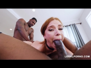Red Head Spinner Pepper Hart Takes Double BBC Dosage AB014 Legal Porno