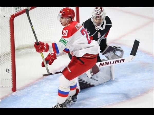 KHL Лев Комиссаров игрок ХК ЦСКА, о своем дебюте за главную команду, о молодежной сборной.