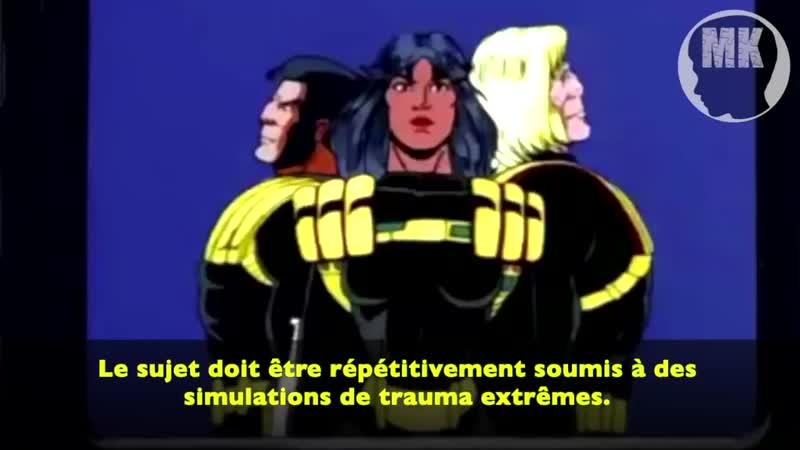 MK Ultra dans X Men Contr le Mental bas sur les traumatismes Amn sie traumatique Dissociation