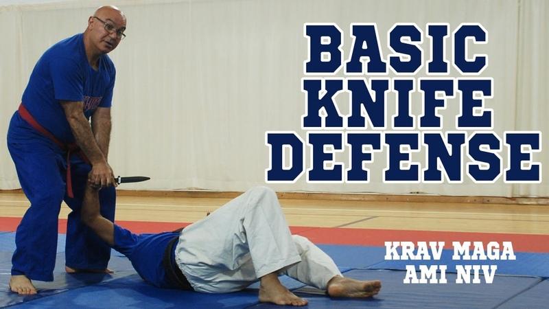 How to Defend KNIFE Stab KRAV MAGA AMI NIV Techniques