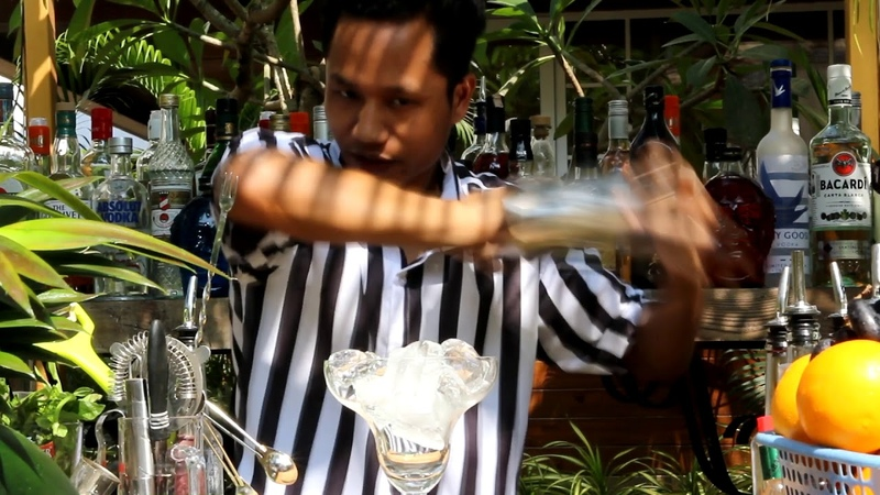 How to make Desi Cocktails | Cocktail Tasting at Shivers Garden Restaurant in Goa