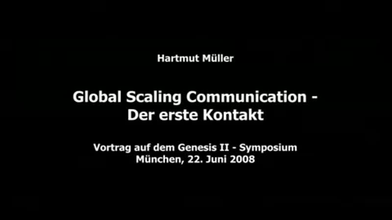 Hartmut Müller Global Scaling Communication