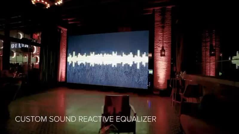 Interactive Led Wall Robot Moda led robotmoda