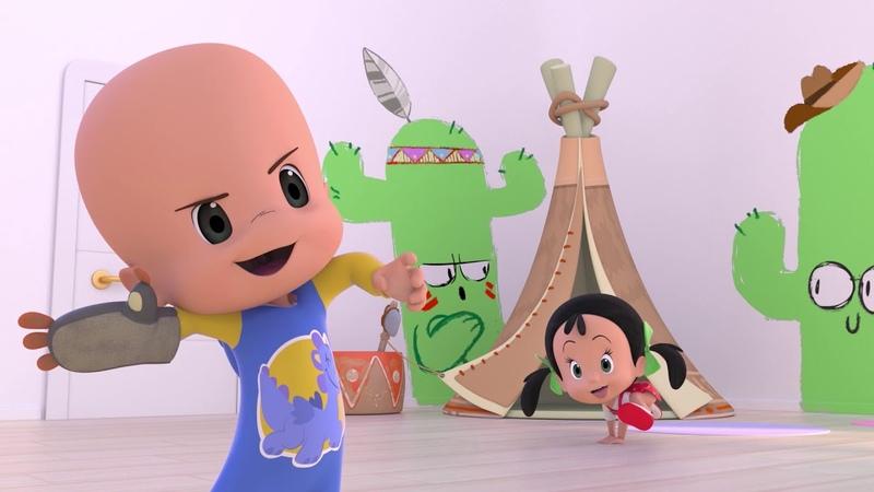 El Alfabeto y más canciones para cantar con tu bebe Cleo y Cuquin español Familia Telerin