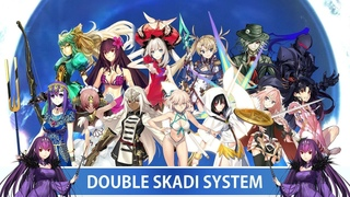 【FGO】Double Skadi System Compatible Servants Demonstration and Tier List【Fate/Grand Order】