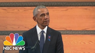Obama Eulogizes John Lewis, 'Founding Father Of That Fuller, Fairer, Better America' | NBC News