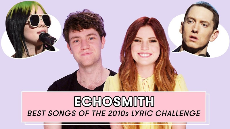 Echosmith Gets Quizzed on the Lyrics to the Best Songs of the Decade Lyric Challenge