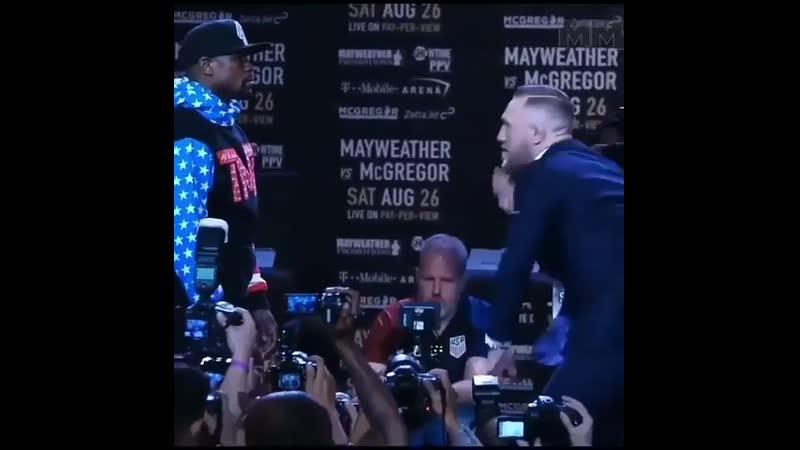 Mayweather McGregor