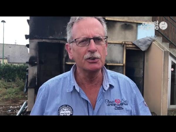 Fougères : La loge des Francs-maçons incendiée - 13/07/2019