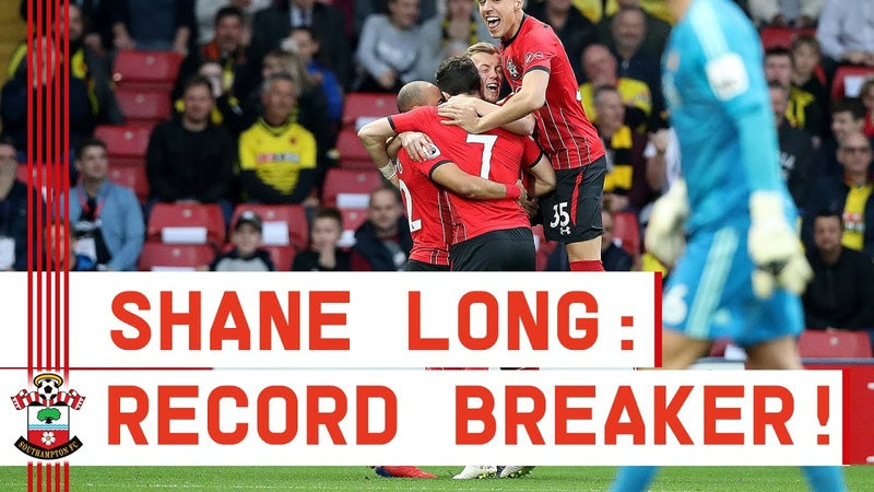 7.69 SECONDS! Shane Long scores fastest goal in Premier League history