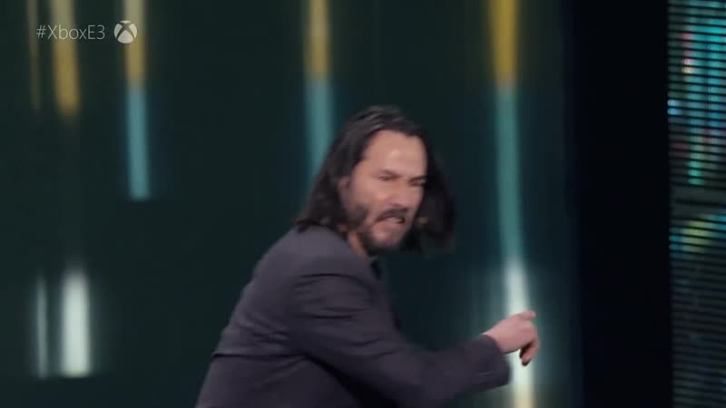 Then check this out с Keanu Reeves