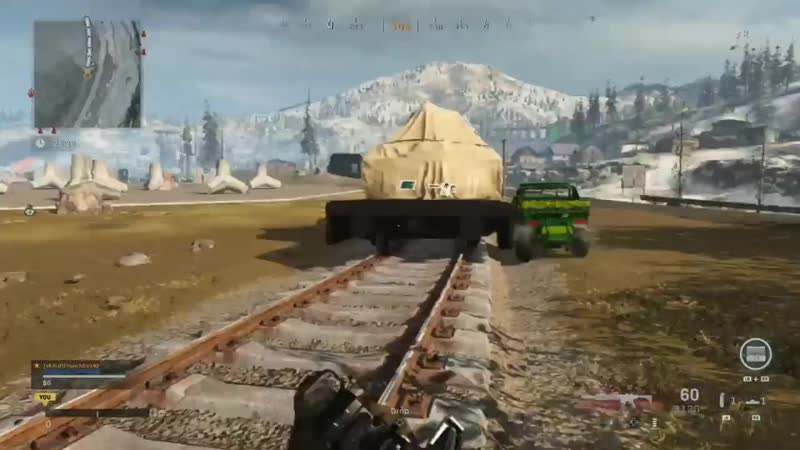 My first attempt at storming the train didn't go so well