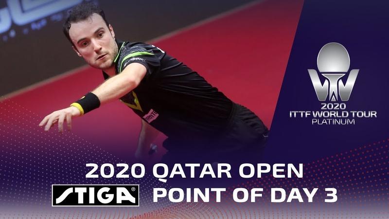 Stiga Point of the Day 3 2020 ITTF Qatar Open