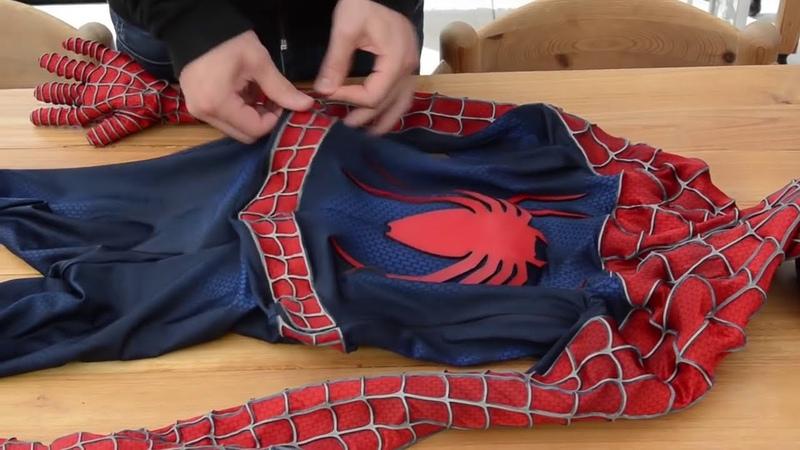 Настоящий костюм Человека Паука Оригинал Сэма Рэйми