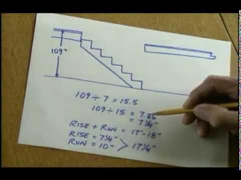 простая лестница с Ларри Хоном Larry Haun simle stair