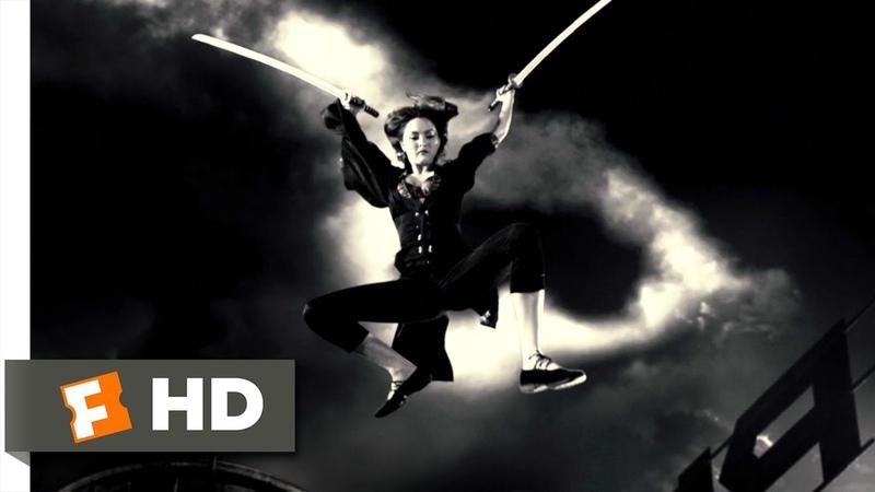 Sin City 6 12 Movie CLIP Miho vs Jackie Boy 2005 HD