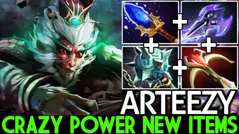 ARTEEZY Monkey King Crazy Power New Items Against Abed Storm Mid Dota 2