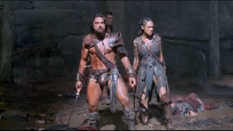 Спартак Война проклятых Уничтожение отряда римлян в лесу