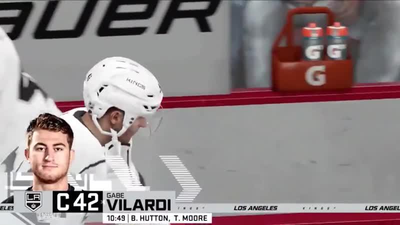 NHL 20 Гол Габриэля Виларди в ворота Чикаго 29 03 20