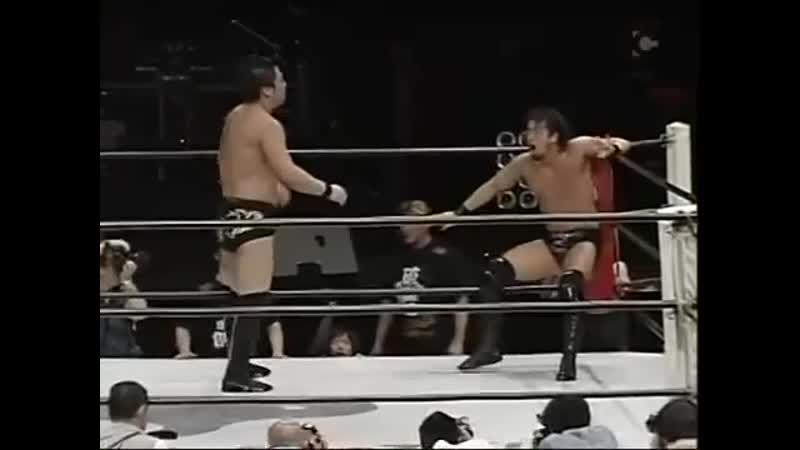 Kohei Sato vs Ryusuke Taguchi 06 04 2008 ZERO1 vs NJPW