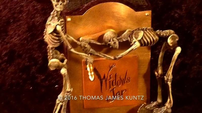 The Widow's Jar an automaton by Thomas Kuntz