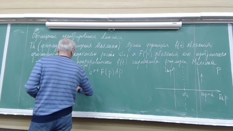 Пара №2 Функциональные ряды и интегральные преобразования Лекция Аудитория 1202 Прокофьев А А 2020 05 29 10 44 11