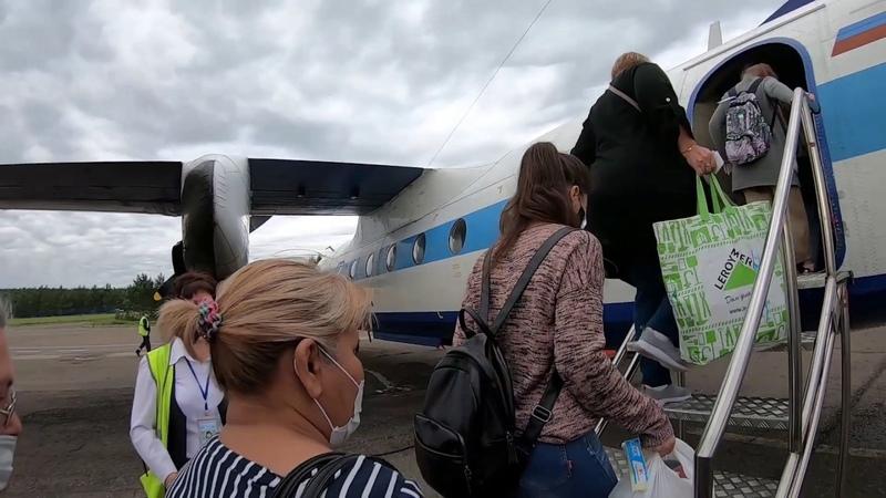 Ан-24 ак КрасАвиа | Рейс Красноярск (Черемшанка) - Байкит
