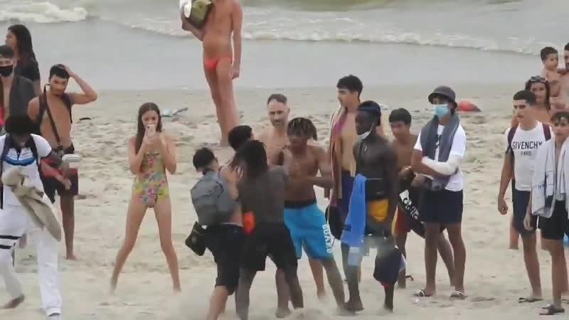 Beglien wird am Strand verteidigt
